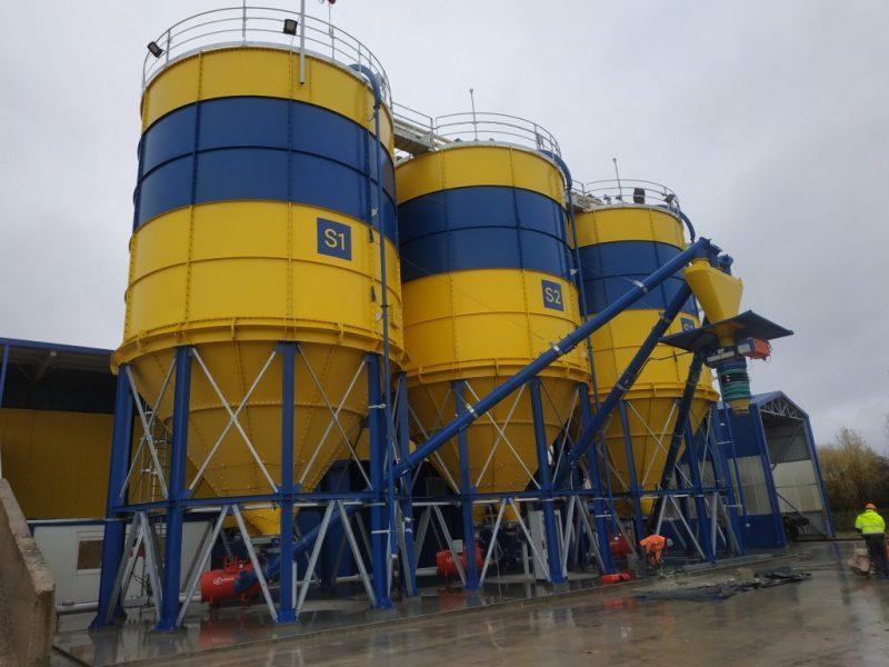 1_Surenkami Silosai cementui birioms medziagoms_Bolted Cement silos_Болтовые Силосa для цемента