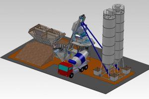 3 Betono gamyklos Batching plant Бетонные зфводы scaled