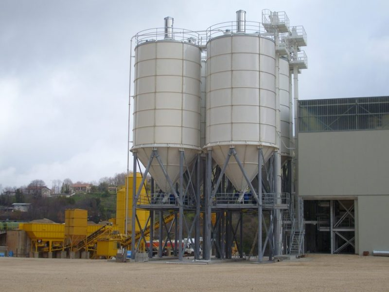 4 Silosai cementui birioms medziagom Cement silos Силосa для цемента scaled