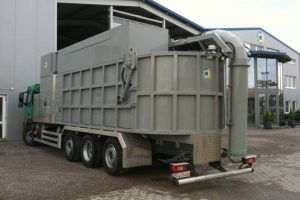 9  Šiukšlių siurbimo mašina Refuse suction unit Мусоро всасывающая машина