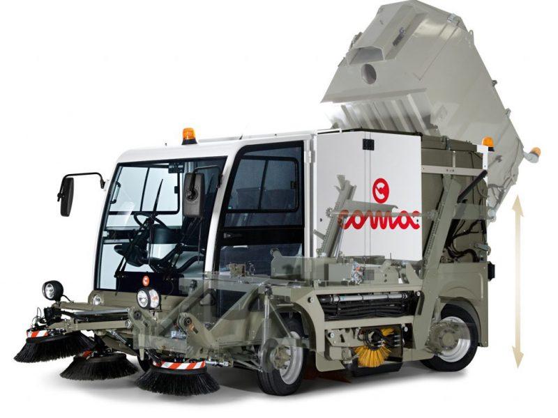 12 Vakuumines šlavimo mašinos Vacuum sweeping machines Подметально всасывающие машины