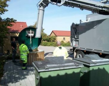 MTS REFUSE SUCTION UNIT WASUCREFUSE ENVAC
