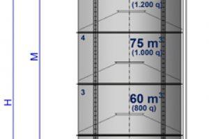 21 Surenkami Silosai cementui birioms medziagoms Bolted Cement silos Болтовые Силосa для цемента