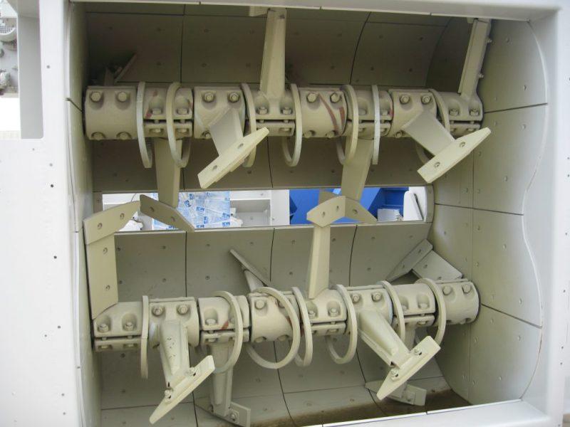 2 Dvieju velenu betono maisykle Twin Shaft Mixer Двухвальный бетоносмеситель scaled