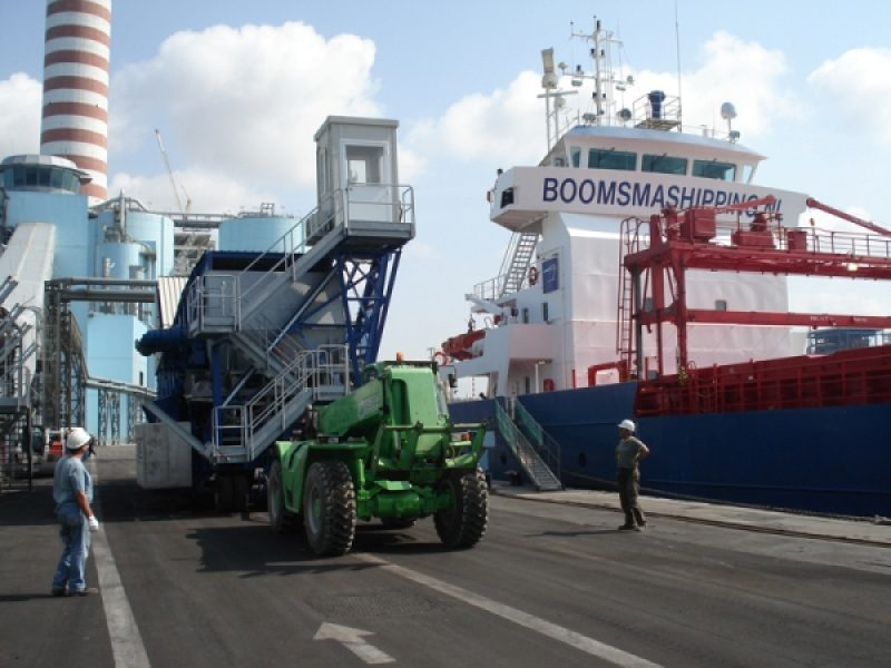 2 Laivo pakrovejas Shiploader Судопогрузчик