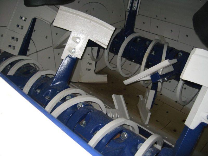 3 Dvieju velenu betono maisykle Twin Shaft Mixer Двухвальный бетоносмеситель scaled