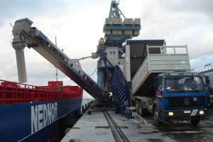 4 Laivo pakrovejas Shiploader Судопогрузчик