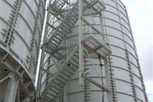 5 Surenkami Silosai cementui birioms medziagoms Bolted Cement silos Болтовые Силосa для цемента