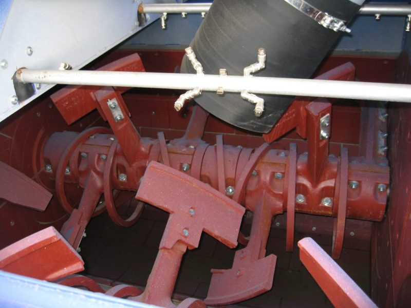 8 Dvieju velenu betono maisykle Twin Shaft Mixer Двухвальный бетоносмеситель scaled