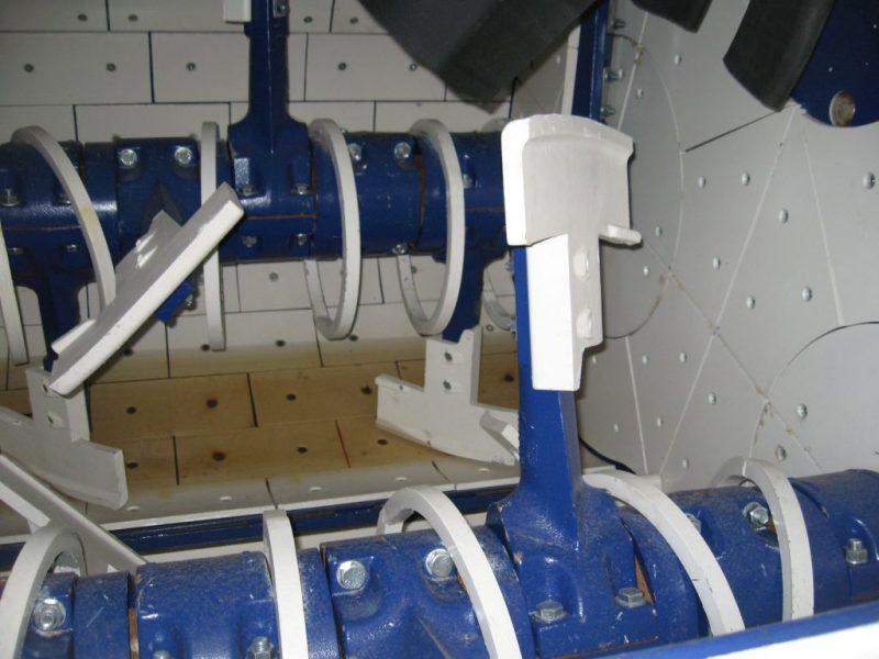 9 Dvieju velenu betono maisykle Twin Shaft Mixer Двухвальный бетоносмеситель scaled
