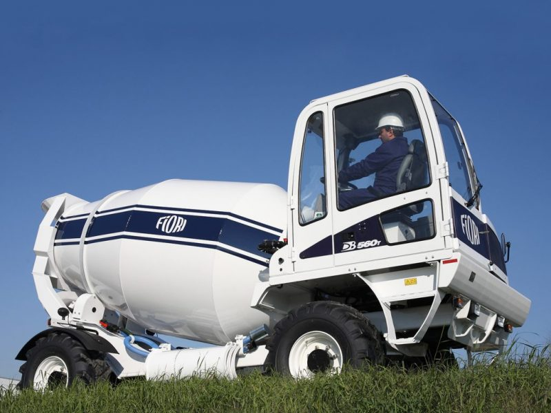 1 Betonvežis FIORI Transit mixer Автобетоносмеситель