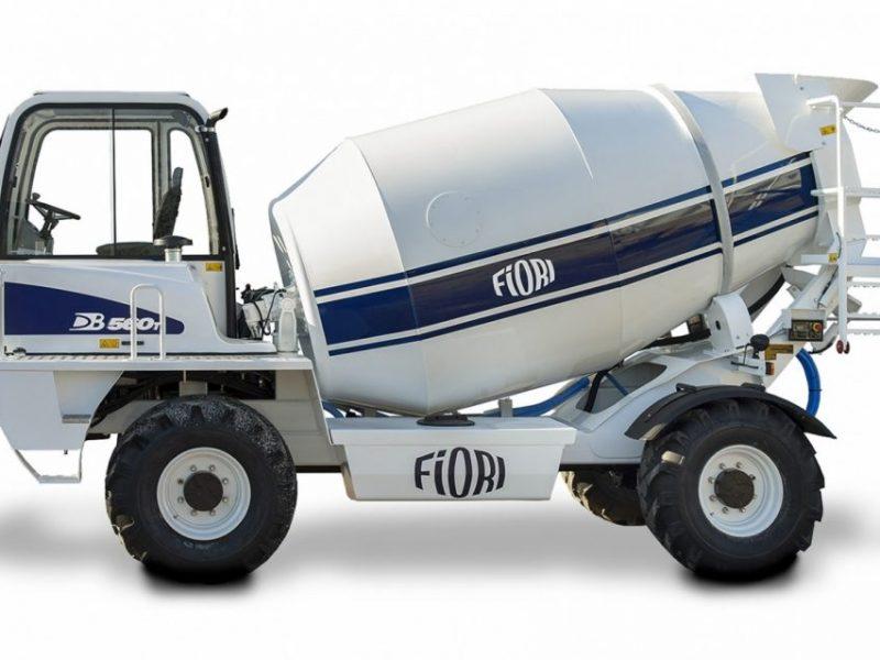 2 Betonvežis FIORI Transit mixer Автобетоносмеситель