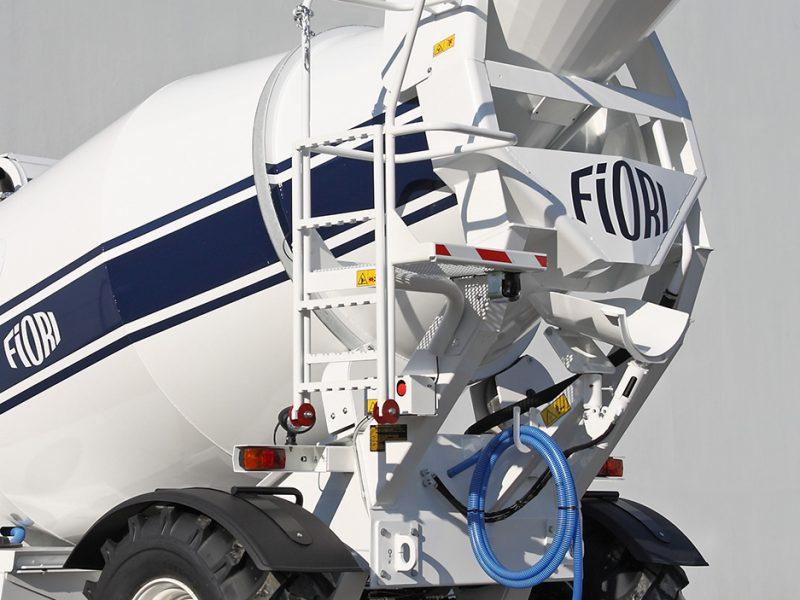 4 Betonvežis FIORI Transit mixer Автобетоносмеситель